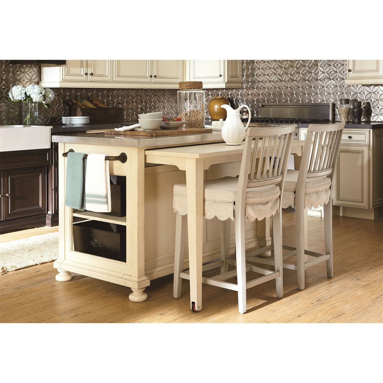 Paula Deen Furniture 393644 River House Kitchen Island