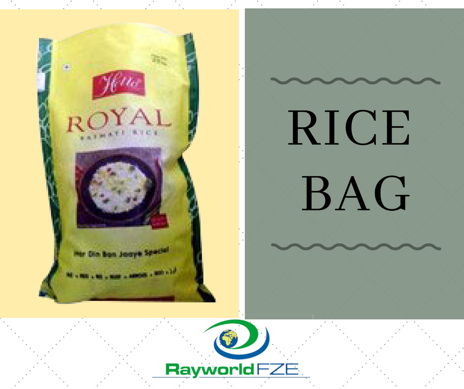 Rice Bags Are Specifically Manufactured To Give Better Packaging To Rice These Bags Helps In Maintaing The Quality Of The Product Mai Bags Sack Bag Woven Bag