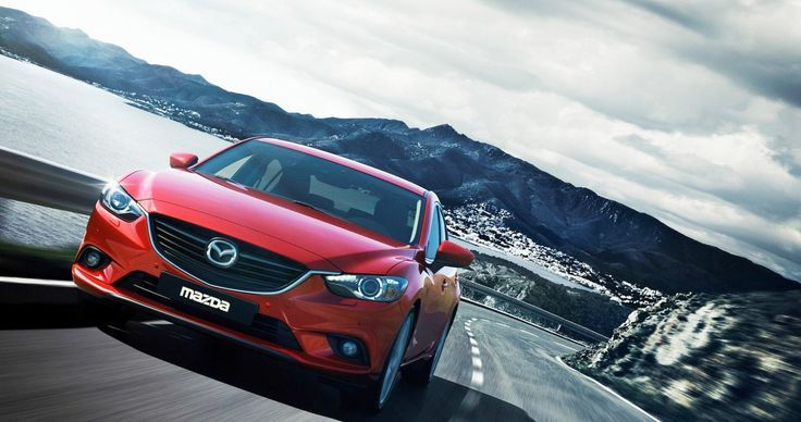 Cool Mazda Mazda Red Sedan Ultra Hd Wallpaper