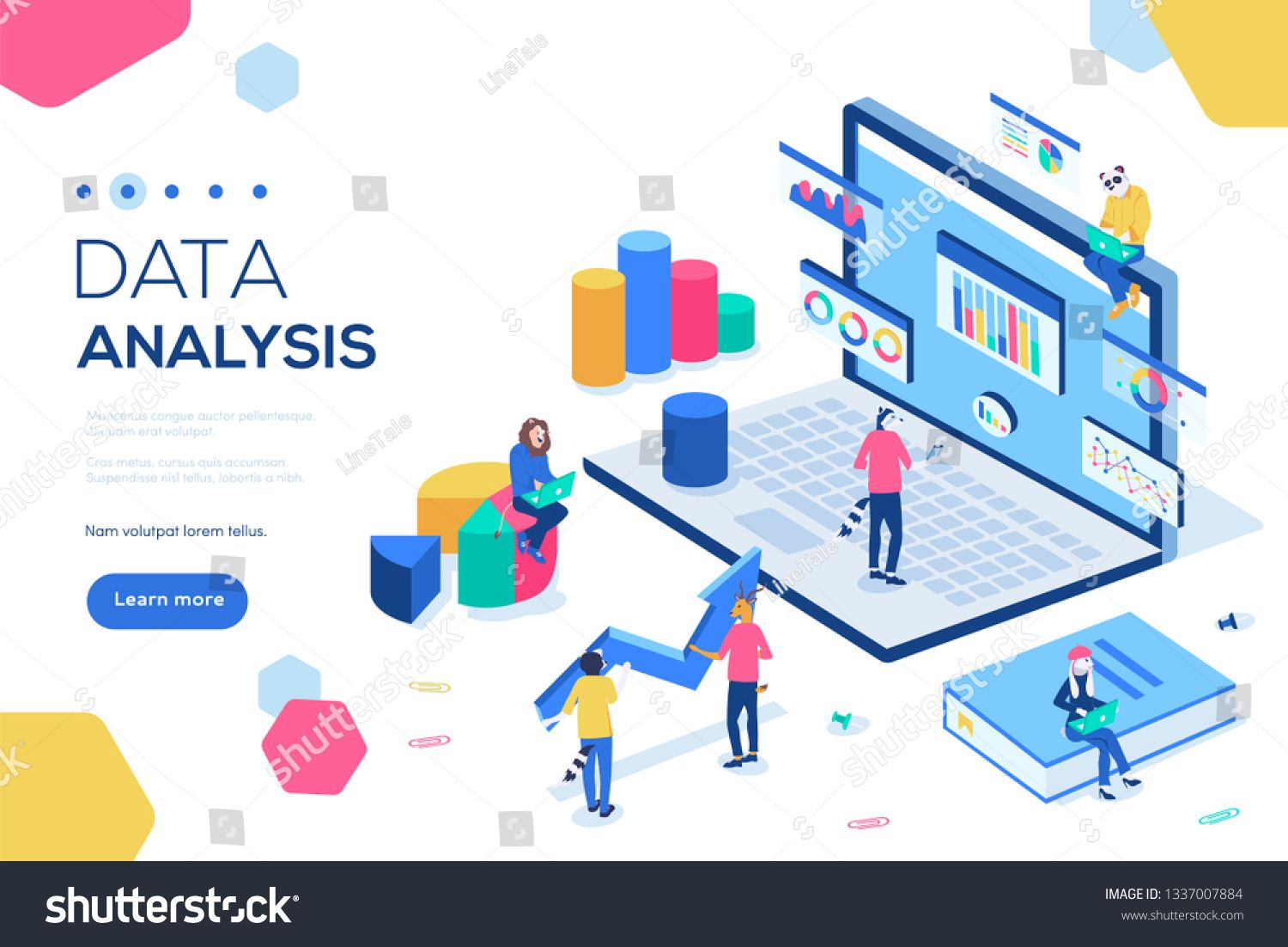 Can Use For Web Banner Infographics Header Images Data Analysis