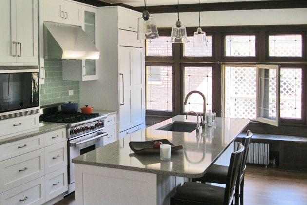 Chicago Bungalow Kitchen Remodel   Pam Morris