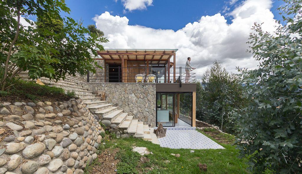 Casa de piedra inai paul vazquez vivienda unifamiliar casas casas de campo y casas en - Casas prefabricadas cuenca ...