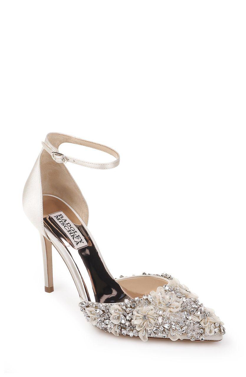Fey Embellished D'Orsay Evening Shoe