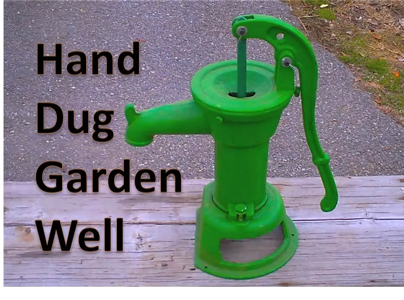 Digging Your Own Water Well Part 1 | Water well, Dig ...