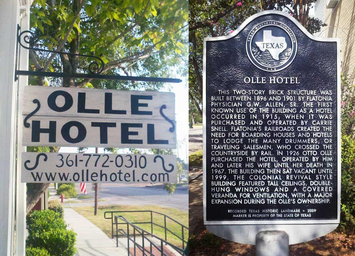 Olle Hotel Flatonia Texas