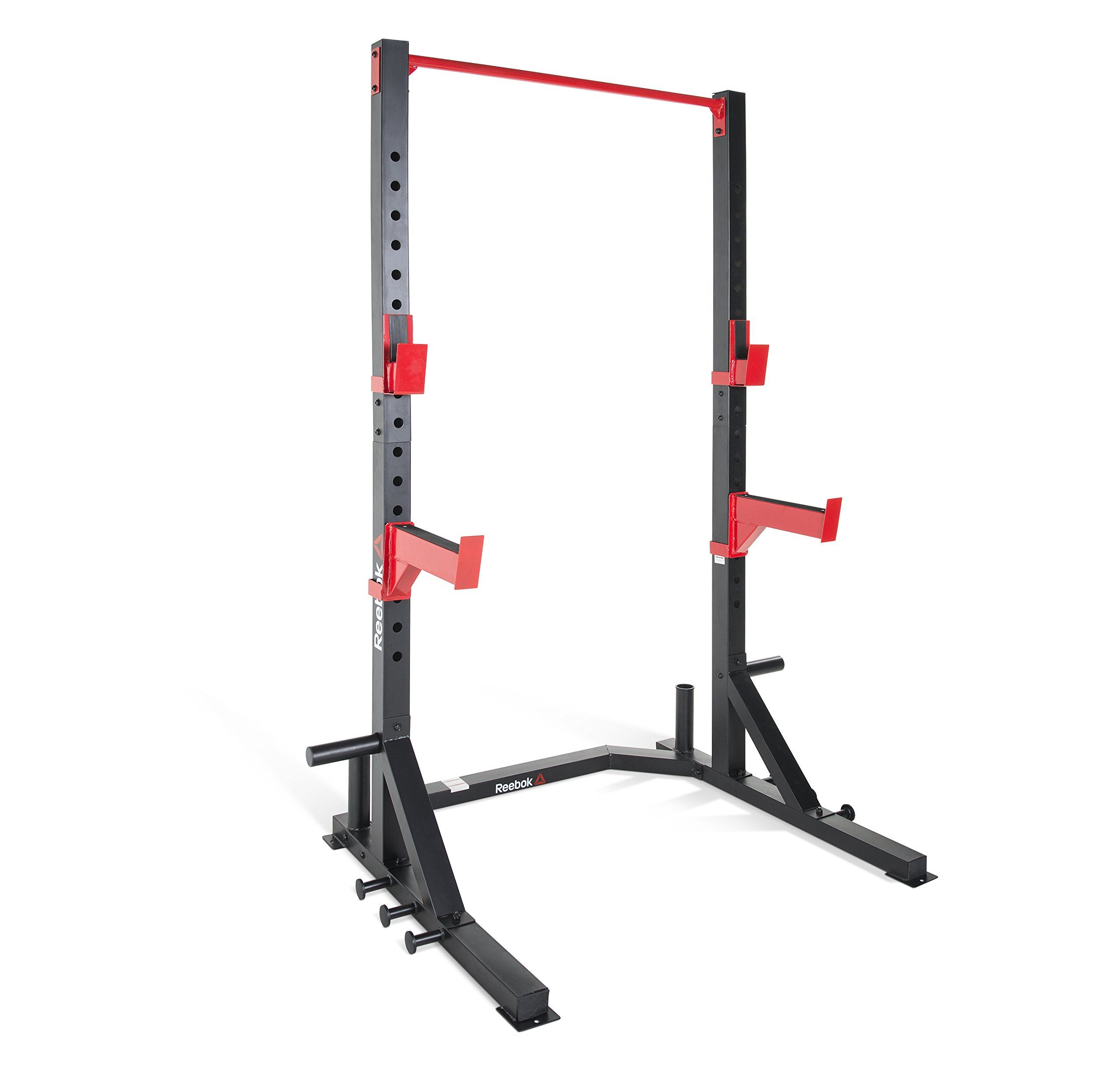 Weight Capacity 1,000 LBS Commercial Grade XMark Multi-Function Adjustable Squat Rack