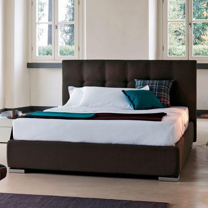 Lookboard Bed Bedroomdecor I Really Like The Full Headboard Look - Logan-leather-bed-with-adjustable-headboard