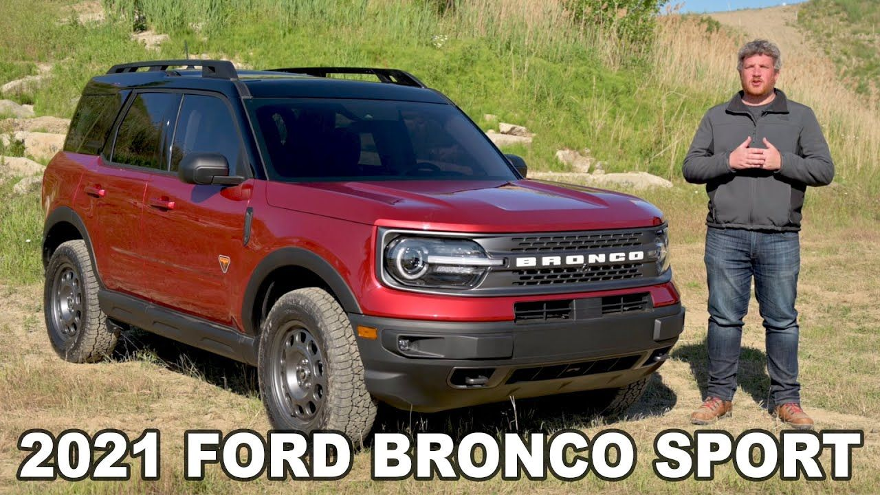 2021 Ford Bronco Sport Complete Look (UpClose Details