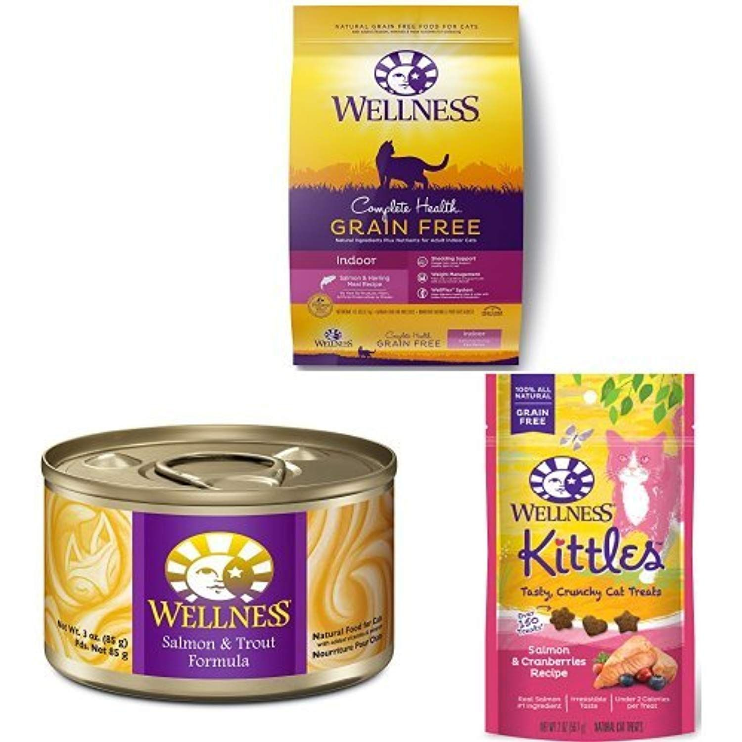 Wellness Well Pack Grain Free Seafood Sensations Includes