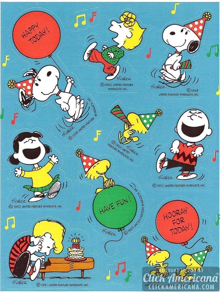VTG 80s Hallmark PEANUTS Halloween Costume Sticker Sheet SNOOPY /& WOODSTOCK Rare
