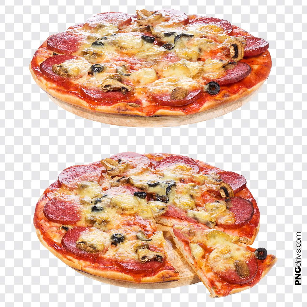 Pin By Png Drive On Pizza Png Images Pepperoni Pizza Delicious Pepperoni