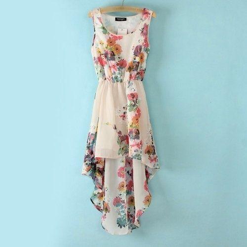 Marissa Hi-Lo Floral Dress - $55