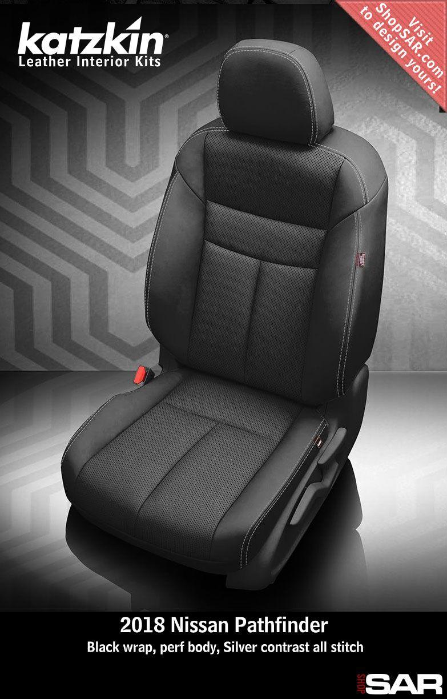 Katzkin Custom Leather Auto Interiors Leather Seat Covers Nissan Pathfinder Leather Seat Covers Leather