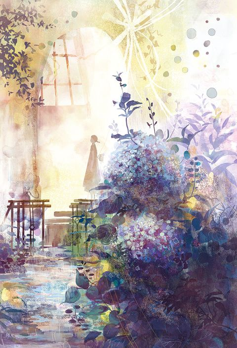 Beautiful colors and atmosphere. drop/お知らせ