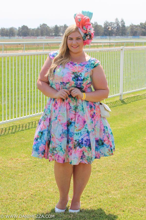 0aca273305 Danimezza Aussie Curves Plus Size Fashion Blogger Outfit curvy australian  Hawkesbury RACES-6