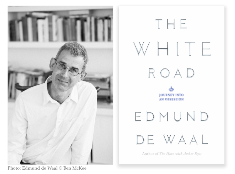 Pin The White Road The Author And Artist Edmund De Waal Gives Us