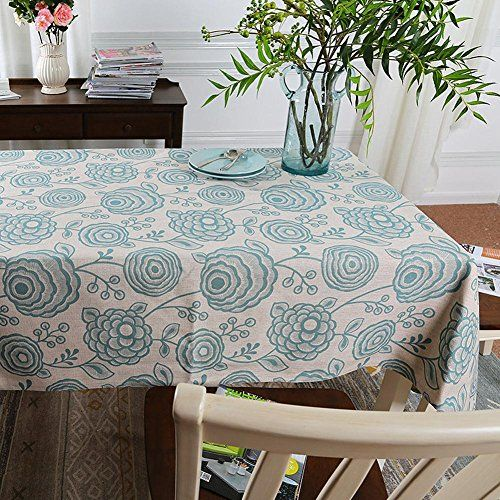 Etonnant Pastoral Linen Tablecloths Household Round Table Rectangular Tablecloths ,  001 , 100x180cm | Cool Furniture 1 | Pinterest | Linen Tablecloth,  Household And ...