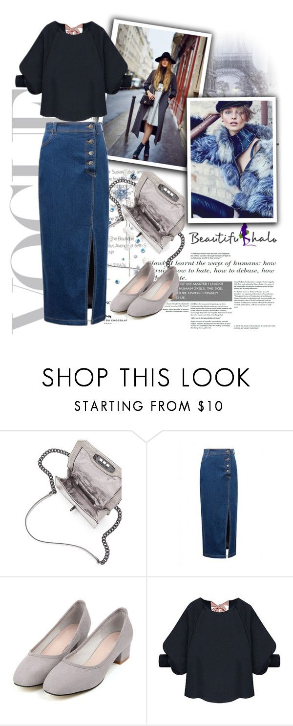 """BEAUTIFULHALO 59"" by barbara-996 ❤ liked on Polyvore featuring Rebecca Minkoff and beautifulhalo"