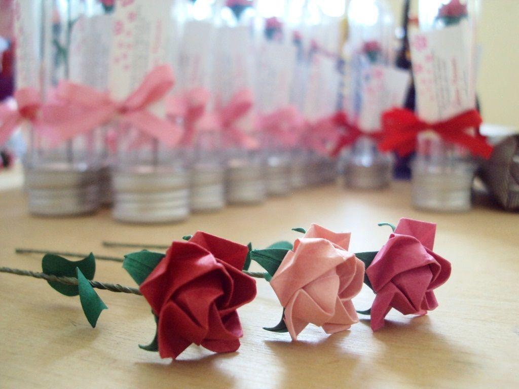 Mini rosas da mamãe Cristina --   *criado por Toshizaku Kawasaki e dobrado por Keithy e Heidy #nascimento #lembrancinhas #meninas