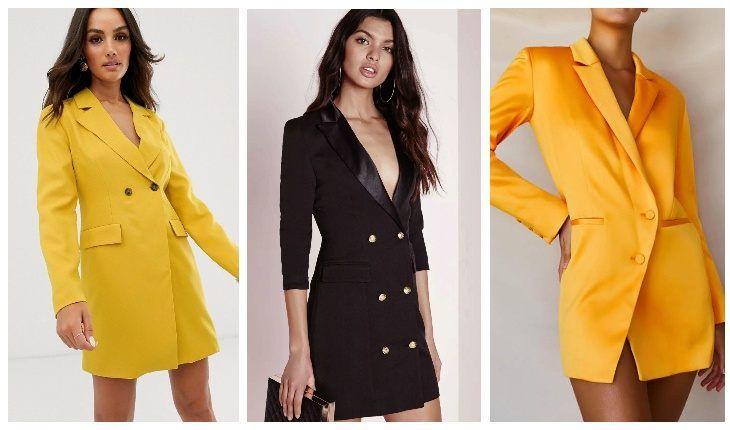 платье пиджак 2020 купить
