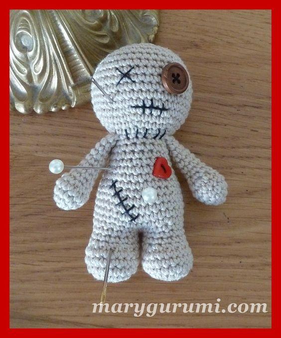 Voodoo Crochet Amigurumi Häkeln Häkeln Ideen Puppe Häkeln
