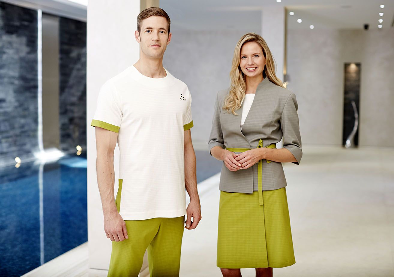 Fashionizer couture uniforms partners with six senses for Uniform for spa staff