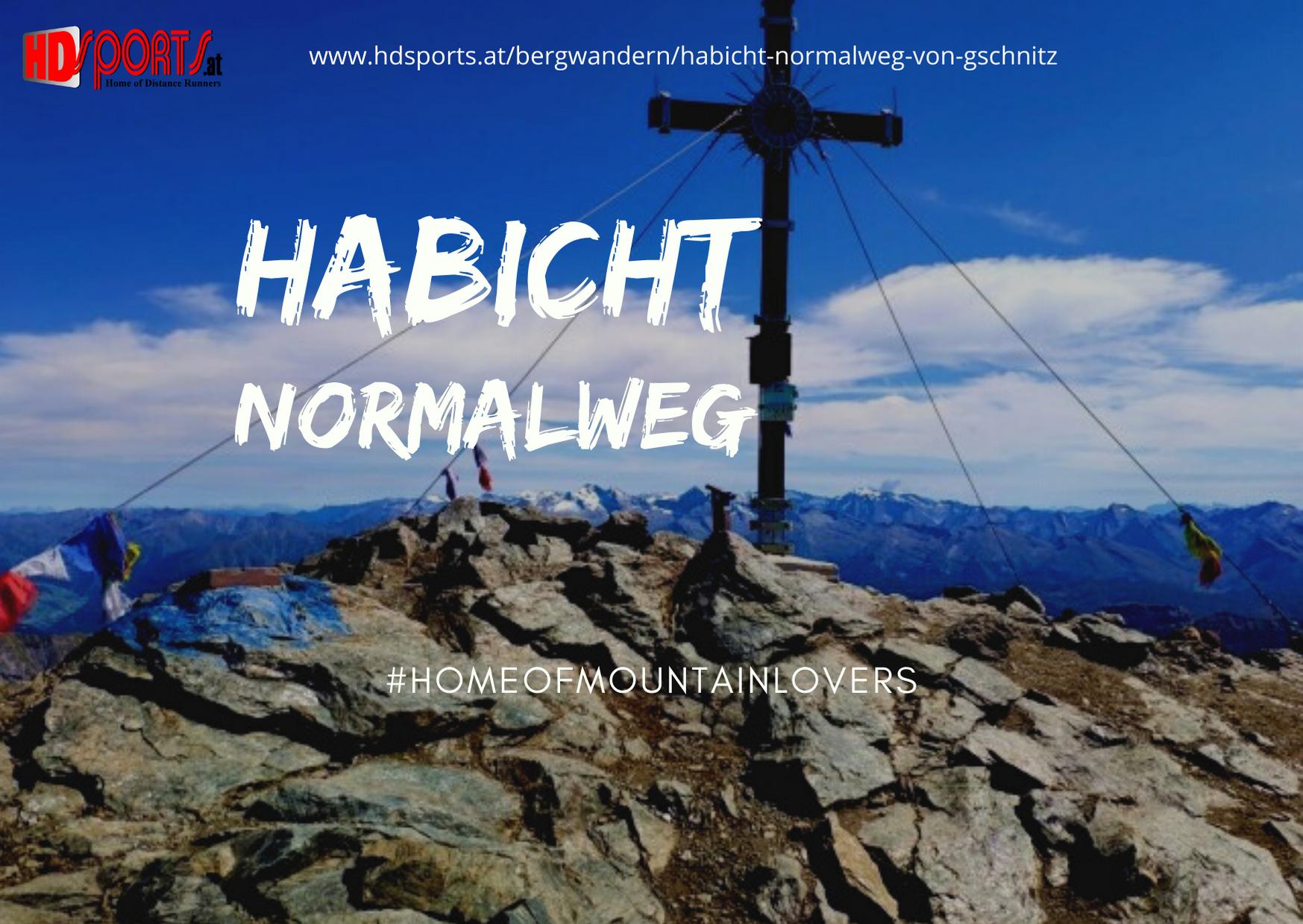 Route Auf Den Habicht Normalweg Von Gschnitz Habicht Bergtour Bergwandern