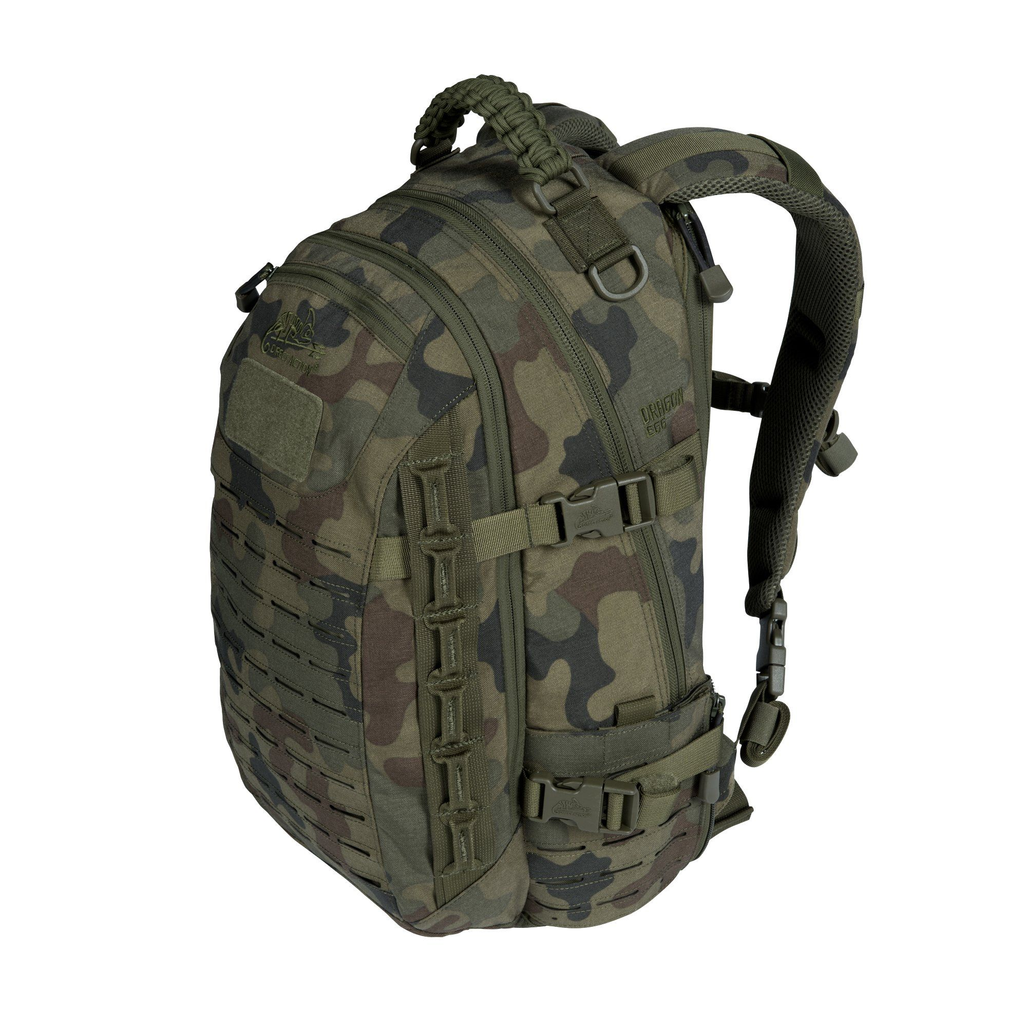 517924cbc243 Direct Action Dragon Egg Tactical Backpack Polish Woodland. Lightweight and  versatile 2-day backpack designed for advanced Military & Law Enforcement  ...