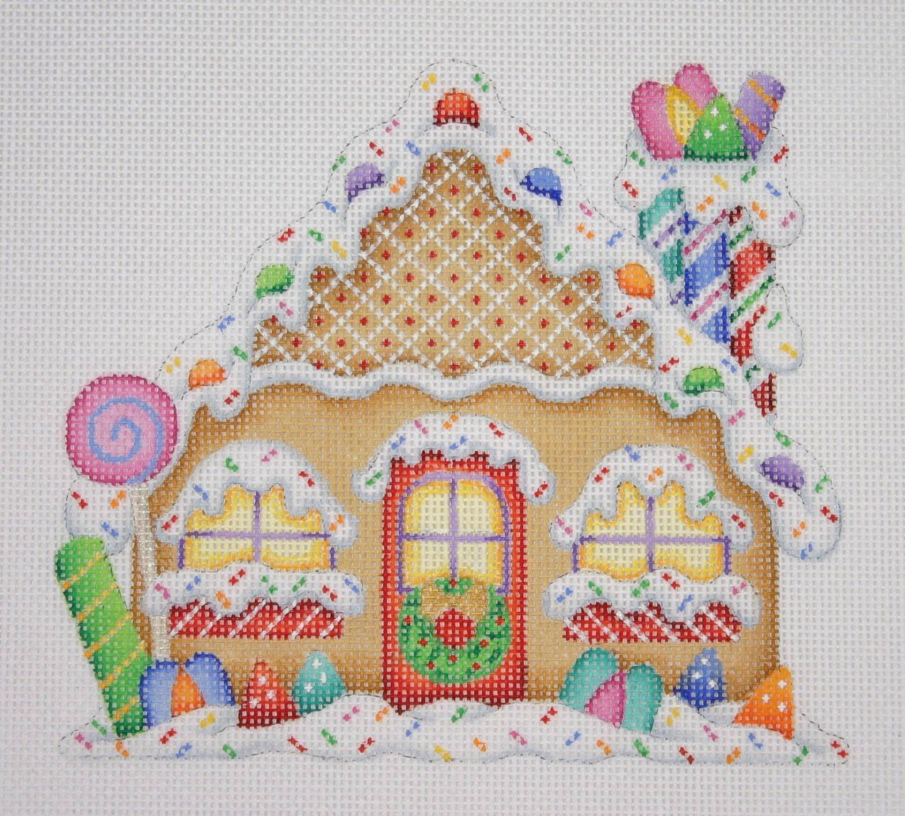 Amy Bradley Designs Gingerbread Houses: Gingerbread House / Candy Cane Chimney