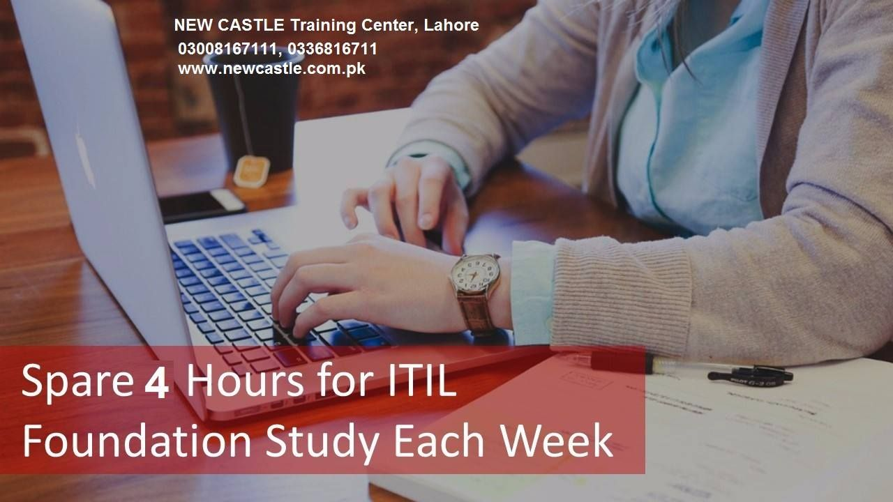 Itil Foundation Certificate In It Service Management In Lahore