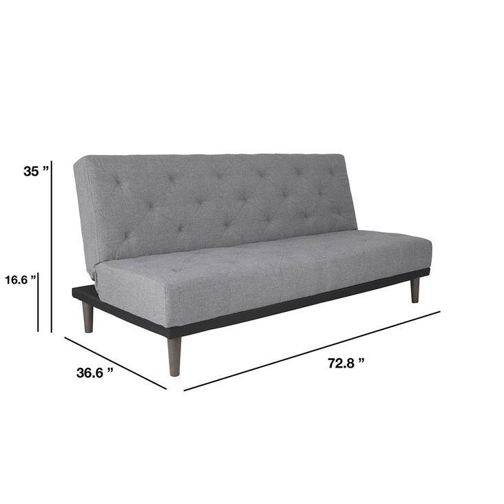 Bedford 3 Seater Futon Sofa Bed