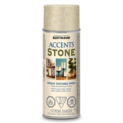 Rust Oleum American Accents 340g Textured Bleached Stone Spray Paint Stone Spray Paint Rustoleum American Accent