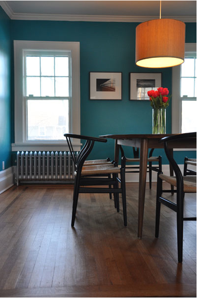 Teal Walls With Warm Orangey Lighting Loving The Color