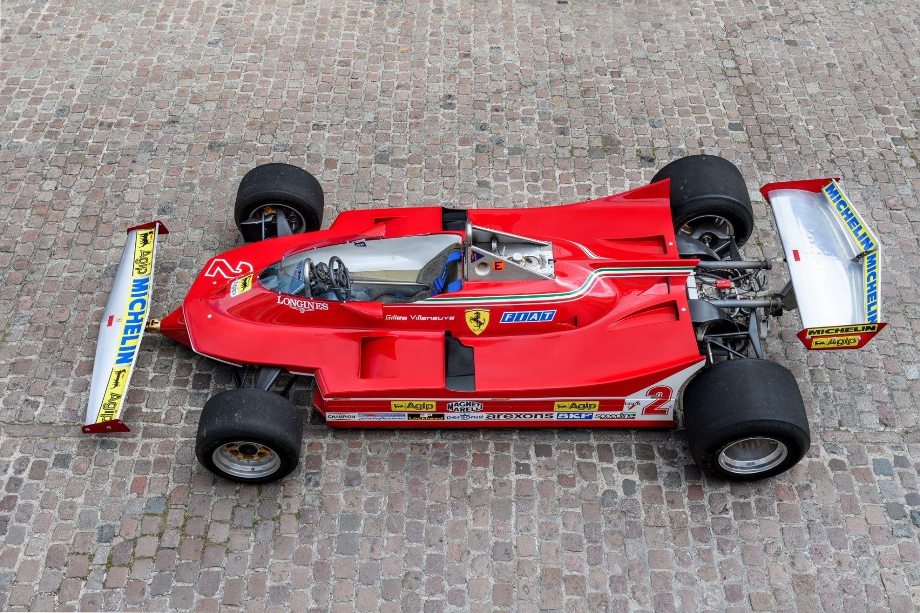 1980 Ferrari Formula 1 312 T5 048