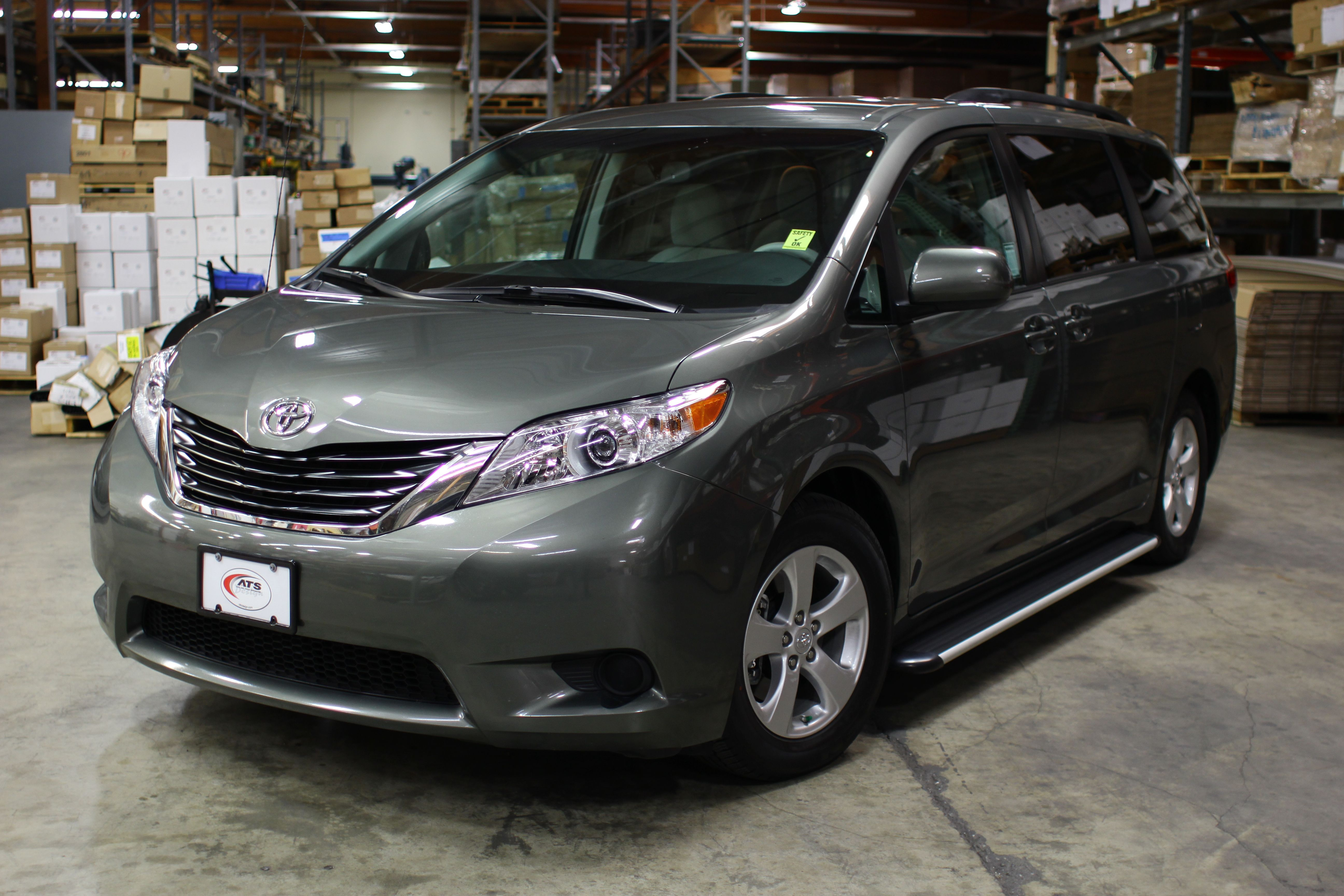 Ats Design Sl Series Running Boards On The 2012 Toyota Sienna See