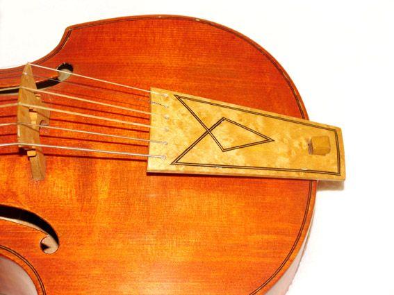 Viola da Gamba Soprano  6 Corde  Treble Viol