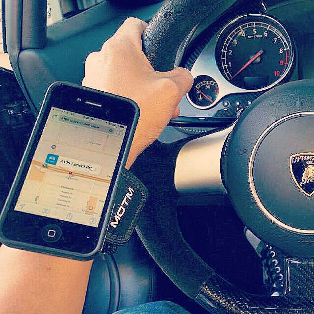 Use your phone #handsfree while driving. #motmstore