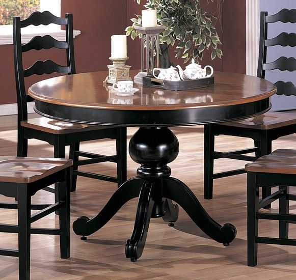 I Love Round Dining Room Tables Dining Room Table Makeover Round Dining Room Round Dining Room Table Black wood round dining table