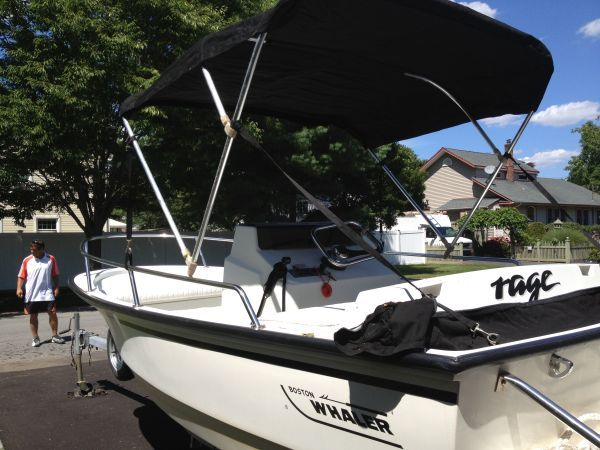 1992 Boston Whaler Jet Boat 5500 Islip Comes With A New
