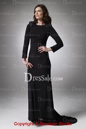 Long Black Military Ball Dresses