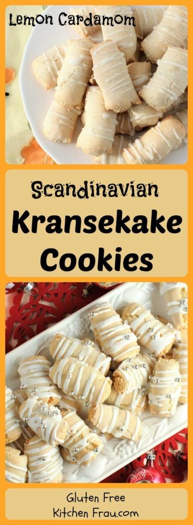 Lemon Cardamom Kransekake are a delicious addition  to your cookie platter. Chewy and full of fresh lemon, cardamom, and almond flavour, plus so much fun to make!