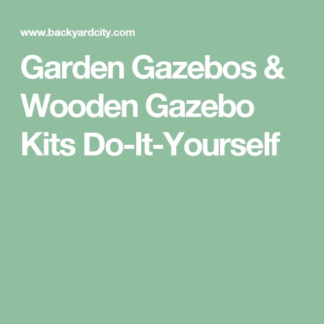 Garden gazebos wooden gazebo kits do it yourself backyard bar garden gazebos wooden gazebo kits do it yourself solutioingenieria Images