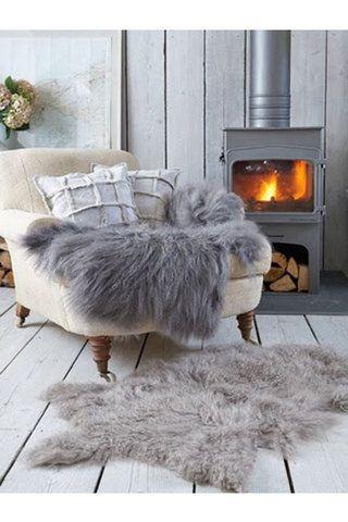 بالصور ديكورات منازل اسكندنافية لجمال منزلك في الشتاء Winter Living Room Hygge Home Hygge