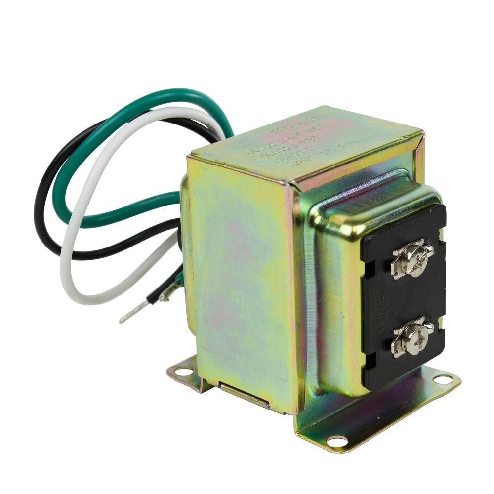 Replacing A Doorbell Transformer Is A Simple Wiring Project But You Must Use A New Transformer With The Same Vol Doorbell Transformer Wired Door Bell Doorbell