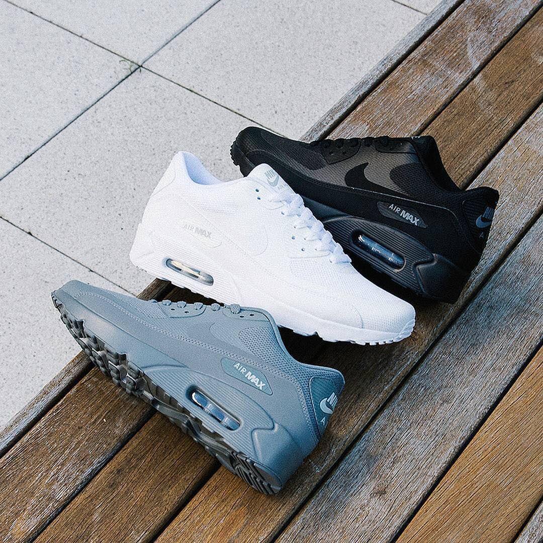 20ae6148b432 Nike Air Max 90 x Black x White x Grey