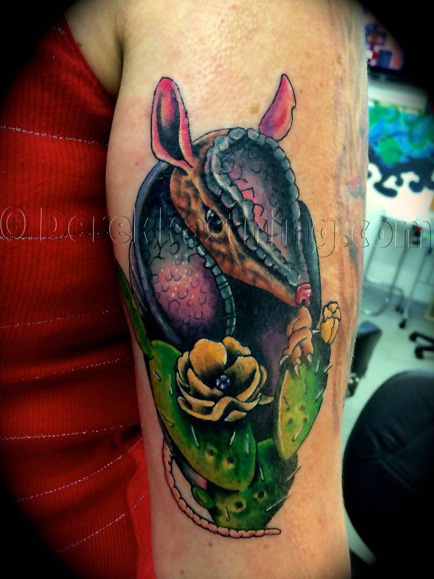 Armadillo tattoo Derek Kastning tattoos 9035304432