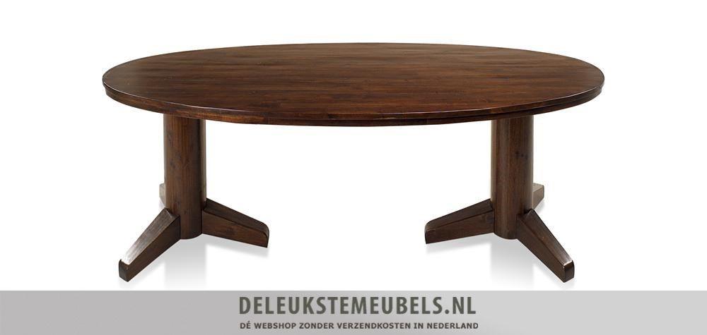 Deze ovale tafel Cape Cod van het merk Henders & Hazel is bijzonder! Hij heeft een afmeting van 190 bij 100cm. De kolompoten maken deze tafel helemaal af! Ga eens voor iets anders en kies voor deze ovale tafel. Snel leverbaar!  http://www.deleukstemeubels.nl/nl/cape-cod-ovale-eettafel-190cm/g6/p106/