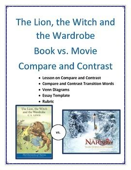 Pin By Jaye Ventura On The Lion Witch Wardrobe Contrast Transition Word Compare And Transitional Phrases Essay