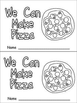 Pizza- Nonfiction Leveled Reader- Level C Kindergarten