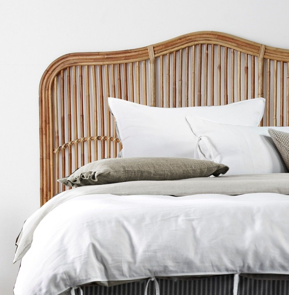 BROOKHAVEN BEDHEAD Naturallycane Rattan and Wicker